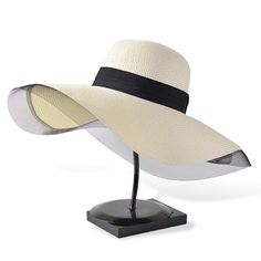 We scoured the globe for unique products in black and white...  Now available on our store: Fashion Retro str... Check it out here! http://shadesofzebra.com/products/fashion-retro-straw-hat-women-foldable-wide-brim-sun-hats-women-2017-summer-beach-vacation-tour-elegant-sun-hat-girl-zlh-040?utm_campaign=social_autopilot&utm_source=pin&utm_medium=pin