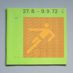 Munich Olympic Football Daily Program, 1972