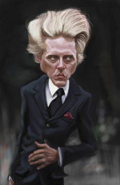 Christopher Walken (by doodleart)