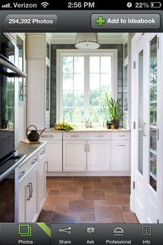 Kitchen floor, pretty tile