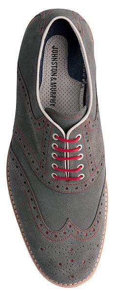 Johnston & Murphy Ellington Wing Tip Shoe ~~ Nice dress shoe for the guys DustyJunk.com #guysfashion #businesswear