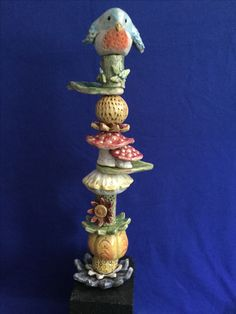 Garden totem by Tracy Murphy