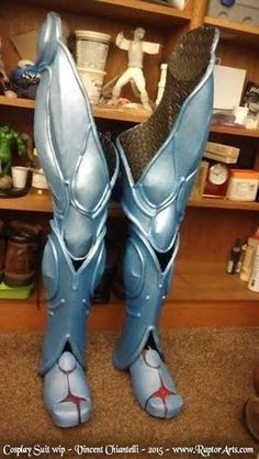 Cosplay Armor - wip  Teaser by RaptorArts.deviantart.com on @DeviantArt