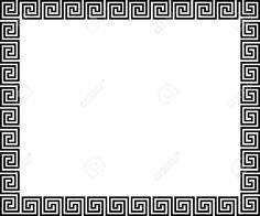 Arrière-plan Avec Ornement Grec - Illustration Clip Art Libres De Droits , Vecteurs Et Illustration. Image 11348937.