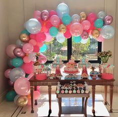 Esplêndida essa festa no tema LOL! Candy Bar Party, Candy Table, Doll Party, 3rd Birthday Parties, Baby Photos, Balloons, Instagram, Candy Bars, Dessert Tables