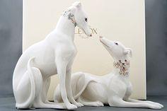Lenox greyhounds...