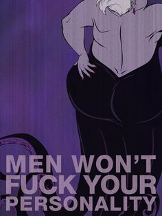 The Little Mermaid~ Ursula Villain Affirmation Posters To Help You Get Through The Day} Disney Amor, Film Disney, Disney Love, Disney Magic, Disney Pixar, Disney Characters, Disney Stuff, Dark Disney, Disney Parody