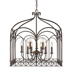 Gateway 9 Light Candle Chandelier