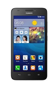 HUAWEI G620S – Smartphone libre Android (pantalla 5″, cámara 8 Mp, 8 GB, Quad-Core 1.2 GHz, 1 GB RAM), negro