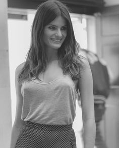 Fashion fan blog from industry supermodels: Isabeli Fontana - London Fashion Week - Spring/Sum...