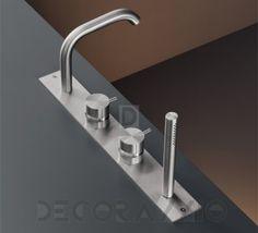 #metal #bathroom #hitech #design  Смеситель для ванной CEA Milo360, Mil88