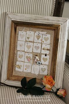 Nichol Spohr LLC: 14 Days of Valentine's Day Inspiration Valentines Art, Valentine Day Love, Valentine Ideas, Bohemian Wedding Inspiration, Heart Frame, Frame Crafts, Paper Tags, Scrapbook Embellishments, Valentine Decorations