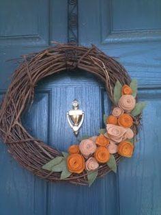 Felt Flowers & Wreaths