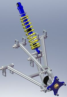 MSOE - Senior Design - SAE Mini Baja - Rear Suspension on Behance