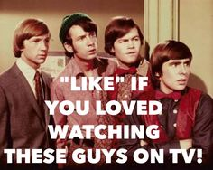 The Monkees TV Show from the 60s and 70s