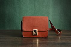 Made of quality materials the stylish Handmade Vegetable Tanned Leather Satchel Bag is perfect for everyday usage for the lovers of classy design...
