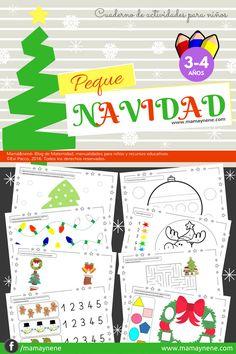 """Cuaderno de Actividades """"Peque Navidad"""" - mamaynene blog"""