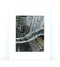 Downtown  New York City Art CityscapeOriginal Mix by MyNewYorkCity