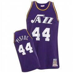 1fdafbb16 Buy Pete Maravich Authentic In Purple Adidas NBA Utah Jazz Pistol Mens  Jersey Super Deals from Reliable Pete Maravich Authentic In Purple Adidas NBA  Utah ...