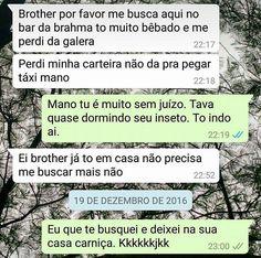 O melhor programa de humor que existe é o WhatsApp brasileiro. Little Memes, Funny Memes, Jokes, Converse, Adult Humor, Puns, Decir No, Stand Up, Comedy