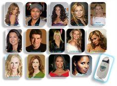Celebrities using the Galvanic Spa