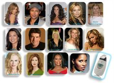 Celebrities using the Galvanic Spa
