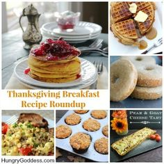 Thanksgiving Day Breakfast Recipe Round-Up