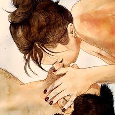Uma artista chamada Frida Castelli resolveu mostrar através de ilustrações os momentos mais íntimos de um casal entre quatro paredes. Para explicar seu proj