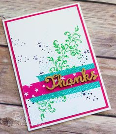 Stampin' Up! UK Feeling Crafty - Bekka Prideaux Stampin' Up! UK Independent Demonstrator: Thank You Card Made With the Timeless Textures Stamp Set From Stampin' Up! UK
