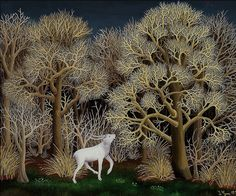Ivan Generalic. I've always loved this painting. Once I had Christmas cards featuring a variation of this painting.