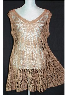 Crochet Lace Layer Dress Made to order in any Size by DearAlina, $199.00