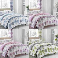 CATHERINE LANSFIELD BANBURY FLORAL REVERSIBLE DUVET COVER SET SINGLE DOUBLE KING  | eBay