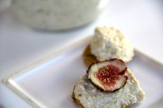 Cashew Butter With Fresh Figs #vegan #recipe