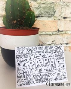 • P A P A • ©️ ✨✨ De PAPA-kaart gaat zo abnormaal hard! Ik weet niet wat me overkomt! Er zijn er nog maar een paar... Dat wordt dus gauw…