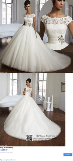 Wedding Dresses: New White / Ivory Wedding Dress Bridal Gown Custom Size 6-8-10-12-14-16++++ BUY IT NOW ONLY: $158.0 #priceabateWeddingDresses OR #priceabate
