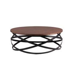 Čierny odkladací stolík sdoskou vdekore orechového dreva sømcasa Dario | Bonami