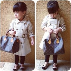 I can't even afford to buy LV for myself!!!  I could replicate that outfit on the cheap, though :-)