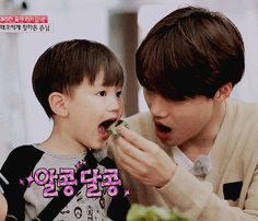 Kai and Taeoh - look how Kai opens his mouth too Also I KNOW this is all fanservice but goddamn Chanyeol, Exo Kai, Kyungsoo, Bts And Exo, Chanbaek, Baekyeol, Jo Eun Hee, Vixx, Fanfic Exo