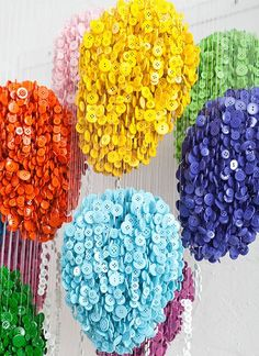Colorful Fun DIY Buttons Projects You Can Start Any Time