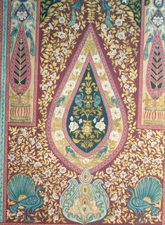 Mughal Pattern - Ceiling of the Taj Mahal