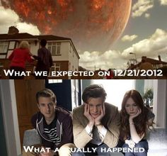 """Haha so true!! Well, that day my friend and I had a Doctor Who marathon, so it was a good wayto """"die""""!!"""