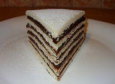 Csiperke blogja: Hatlapos csokis sütemény Vanilla Cake, Cookies, Sweet, Foods, Christmas, Crack Crackers, Candy, Food Food, Xmas