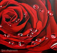 Image result for roses painting acrylic