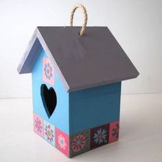 Bird house.  All bird Houses and Feeders can be made in different color combination #lovebalela