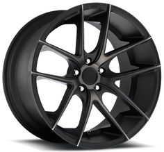 "17"" 18"" 19"" 20"" 22"" Niche Wheels M130 Targa Black Machined Rims *Free Shipping #AudioCity"