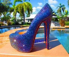 Wedding heels on Pinterest | Louis Vuitton, Red Bottoms and Red ...