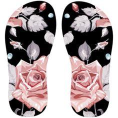 Estampa para chinelo Floral 000613