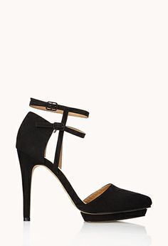Bombshell Faux Suede Stilettos   FOREVER21 - 2000050422  #ForeverHoliday