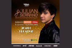 Julián Serrano, gran show de cierre del año en Buenos Aires