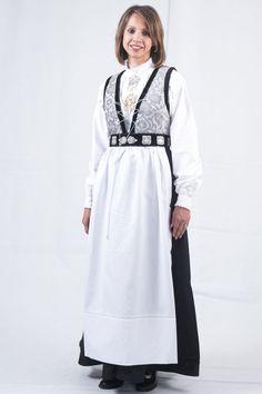 Fana silver festdrakt fra By Valland - Dame High Neck Dress, Dresses With Sleeves, Long Sleeve, Silver, Fashion, Turtleneck Dress, Moda, Sleeve Dresses, Money